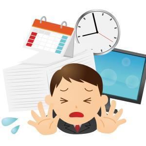 残業やら休日出勤が続くと知らぬ間にストレスが溜まってくるものです