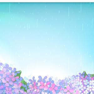 爽やかな陽気から一瞬で梅雨に😅