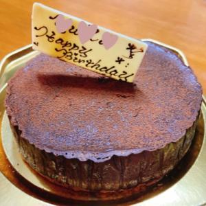 妊糖でも誕生日ケーキ♡