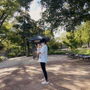 公園でプチ散歩