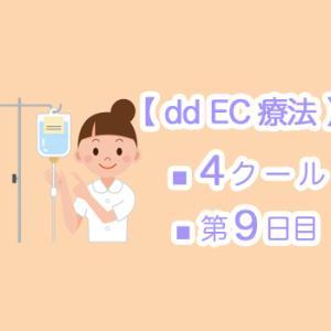 【 dd EC療法 】4クール9日目 ☆ 乳がんを忘れられる時間