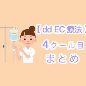 【 まとめ 】dd EC療法 4クール目 副作用 ☆ 全クール終了後のしこりは!?