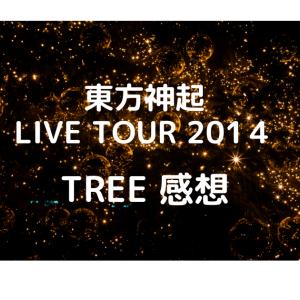 東方神起LIVE TOUR 2014 TREE 感想 その2