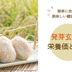 【発芽玄米の栄養価と特徴】美味しいごはんで健康を意識した食生活を