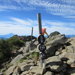 【南八ヶ岳縦走~その2】横岳の岩稜帯を楽しみながら岩場歩きの経験値を上げる