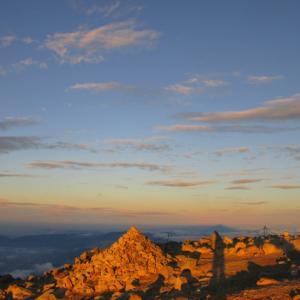 【木曽駒ヶ岳(その3・終)】感動を与えてくれる山頂からのご来光と360°の大展望