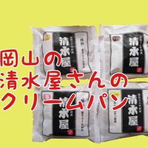 ちゃんと届いた!岡山の清水屋さんのクリームパン