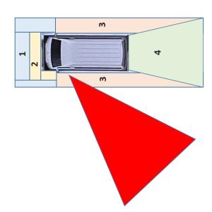 バンコン キャンピングカーの運転席からの視界 左斜め後方は見えますか?