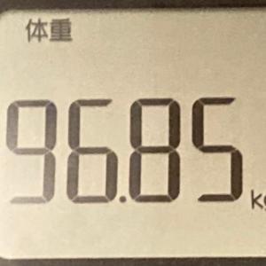 食欲やばめ【96.85kg】