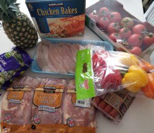 Costcoで買い出し&食材の保存法