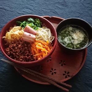 高黍と野菜のビビンバ