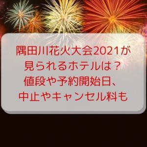 隅田川花火大会2021が見られるホテルは?値段や予約開始日、中止やキャンセル料も