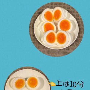 【失敗なし!経済的!】半熟ゆで卵の作り方