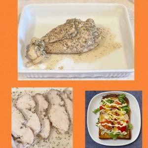 【超簡単!サラダチキン】3分湯がいて放置して終わり。