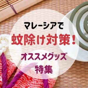 マレーシアの蚊除けグッズ特集!日本から持ってくるべきアイテムも紹介!【虫除け対策】