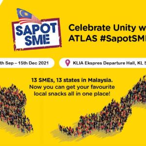 【期間限定イベント】マレーシア13の州がそれぞれ自販機になってKLセントラルに出現中!