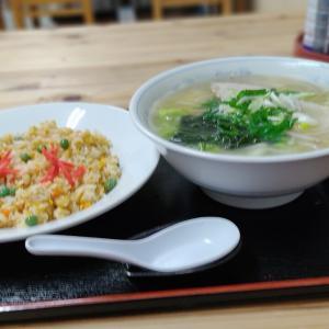 気さくなオバちゃんに会いに… 七飯町大中山に店舗がある「お食事処まつざき」さんにて塩ラーメンをキメてきました