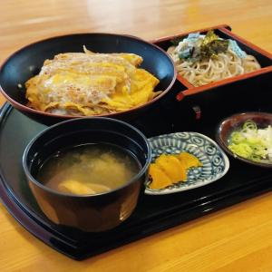 北斗市七重浜のお蕎麦屋さん「蕎麦 丸昌やぶ久」さんにて お蕎麦とカツ丼のセットメニューをキメてきました