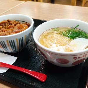 吉牛でも無く、すき家でもなくもう一つの牛丼を求めて…「なか卯 函館昭和店」にて牛丼とうどんをキメてきました