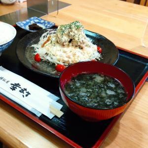 Twitterで見知った美味しい飯屋さんへ…北斗市東浜に店舗のある「一膳飯屋幸まさ」さんにて チキン南蛮定食をキメてきました
