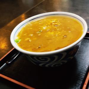 冬の入り口が目の前に迫って来ておりまして…七飯町大川町にある お蕎麦屋さん「そば処はつね」さんにてカレー南蛮をキメてきました