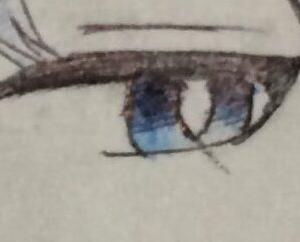 オリキャラを描きました^^(前編)