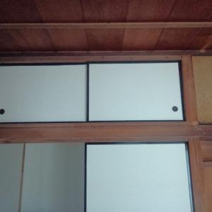 神棚のある6畳間(和室)をDIYで綺麗にする②(天袋の引き手の取り付けと神棚下の段差を撤去)