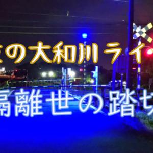 【CARACLE紀行】隠世踏切、大和川夜ライド