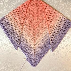 三角ショール②