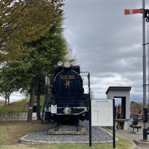 青森県にあるD51形蒸気機関車