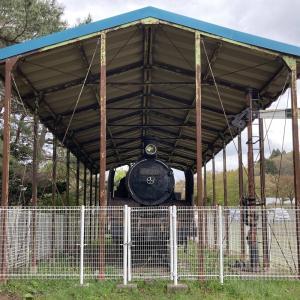 青森県にある蒸気機関車 C11210