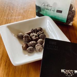 コーヒー好きのヴィーガンチョコ『コーヒービーンズチョコ ブラック』/27 COFFEE ROASTERS