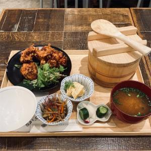 ご飯・味噌汁のおかわり無料!東急プラザ銀座『SALON GINZA SABOU』の選べる和定食ランチ