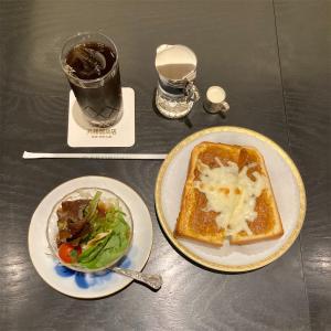 丸福カリートーストセット【丸福珈琲店】
