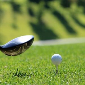 ゴルフレッスンで・・