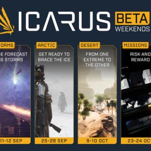 【ベータ実況配信有】実質DayZ後継の新作惑星サバイバルゲーム「ICARUS」ベータ3情報