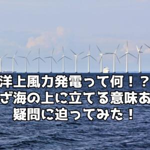 【最新版】洋上風力発電のメリットとデメリットとは?《環境と漁業に与える影響とは》