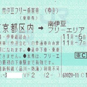 【企画乗車券・JR東日本】 南伊豆フリー乗車券