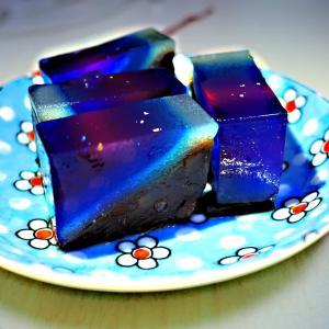 【和菓子】美しすぎて食べるのがもったいない京羊羹「天の川」