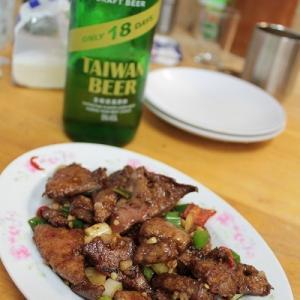 28回目の台湾旅行記 台北 ドンピシャに好みなお店@大眾吳師小吃店