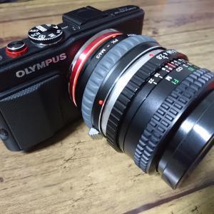 壊れたカメラとオールドレンズで残す一日