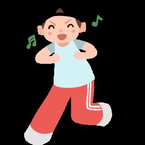 ダンスする男性1 Man dancing1