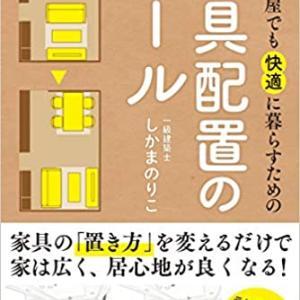 家具配置のルール しかまのりこ著 参考図書