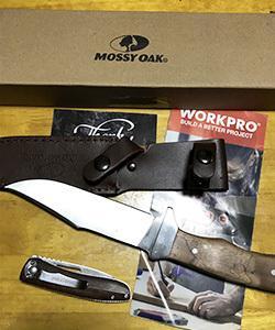 買ってしまった 新しいナイフMOSSY OAK