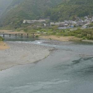 清流 仁淀川で絵になる風景と沈下橋に出会う(旅その4前編)