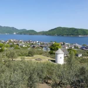 小豆島一周、オリーブ公園とエンジェルロード(旅その10後編)
