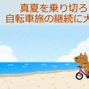真夏を乗り切ろう!熱中症にならず自転車旅を続けるために大切な事