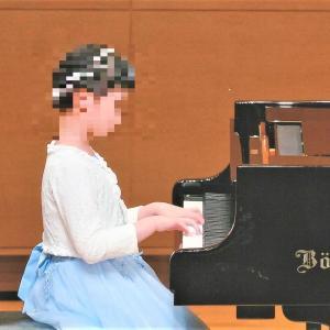 小4  「ピアノ発表会」写真が届きました。