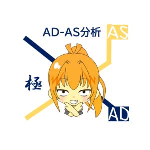 マクロ経済学 AD-AS曲線を簡単に導出する小技