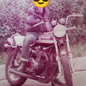 父お気に入り写真のバイクの正体は?